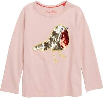 Boden Mini Color Change Sequin Tee