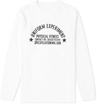 Uniform Experiment Long Sleeve UEN Physical Fitness Tee