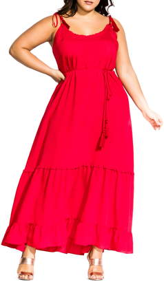 City Chic Endless Summer Maxi Dress