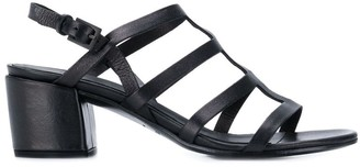 Del Carlo strappy ankle sandals