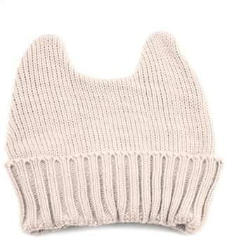 Pop Fashionwear Women's Winter Knit Bunny Ear Beanie 335HB