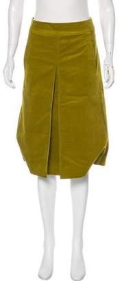 Tory Burch Knee-Length Corduroy Skirt