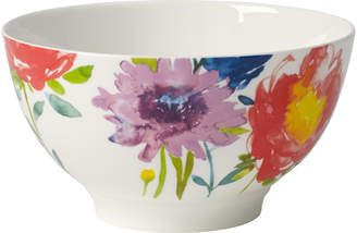 Villeroy & Boch Anmut Flowers Rice Bowl 20 oz