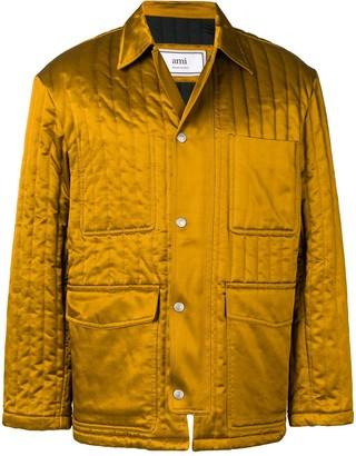 Ami Paris Multipockets Zipped Jacket