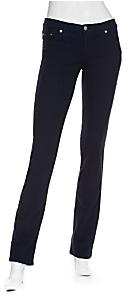 Nobody Mod Straight Jeans: Navy