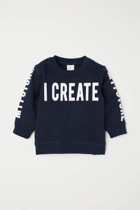 H&M Sweatshirt - Blue