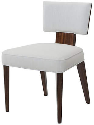 Theodore Alexander 55 Broadway Side Chair - Ivory Linen