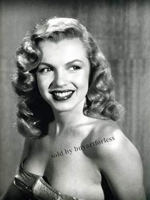 Monroe Buyartforless Young Marilyn 12x16 Art Print Poster Wall Decor Famous Image