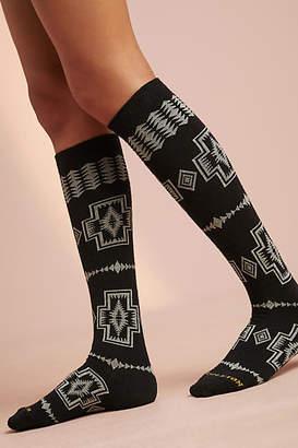 Pendleton Harding Knee-High Wool Socks