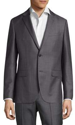 Theory Slim-Fit Dobby Wool Suiting Blazer