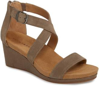 35c505cd2598 Lucky Brand Toe Strap Women s Sandals - ShopStyle