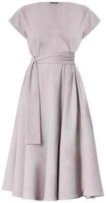 Beige Meem Label Stine Midi Dress