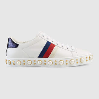 Gucci Ace studded low-top sneaker
