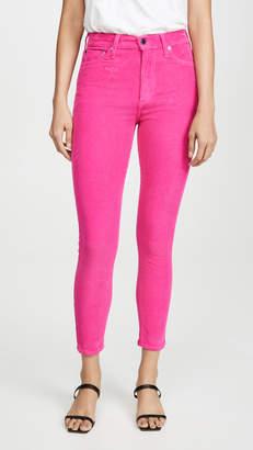 Alice + Olivia Jeans Good Ankle Skinny Corduroy Pants