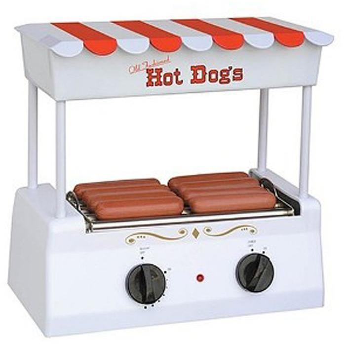 Nostalgia Electrics Old-Fashioned Hot Dog Roller Grill