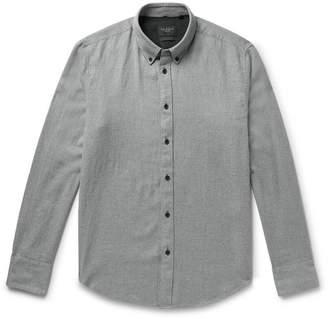 Rag & Bone Fit 2 Tomlin Button-Down Collar Cotton And Linen-Blend Twill Shirt