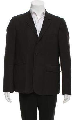 Burberry Pinstripe Three-Button Blazer
