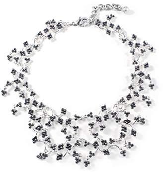 Lulu Frost Women's Jackie Grey Necklace of Length 46.36cm