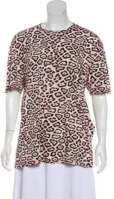 Givenchy 2016 Leopard Print T-Shirt