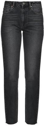 Raey Rail High Rise Straight Leg Jeans - Womens - Black