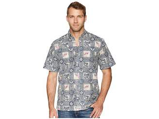 Reyn Spooner Summer Commemorative 2018 Classic Fit Aloha Shirt Men's Short Sleeve Button Up