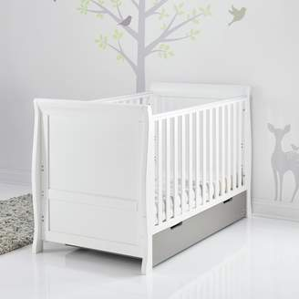 O Baby Obaby Stamford Sleigh Cot Bed