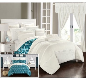 Chic Home 20-piece Kyrie Bed in a Bag Superset