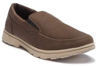 Hawke & Co Hudson Leather Slip-On Sneaker