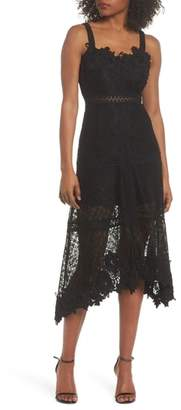 Foxiedox Angelisa Lace Midi Dress