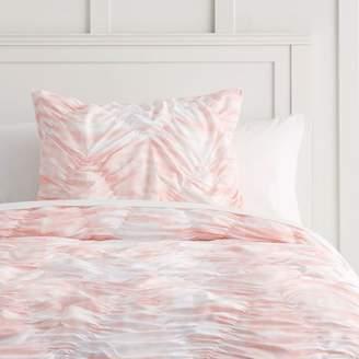Pottery Barn Teen Whimsical Waves Comforter, Full/Queen, Pale Seafoam Tie-Dye