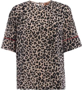N°21 N.21 Leopard Print Blouse