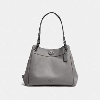 Coach Turnlock Edie Shoulder Bag Sales Price $395