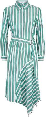 Claudie Pierlot Striped Shirt Dress