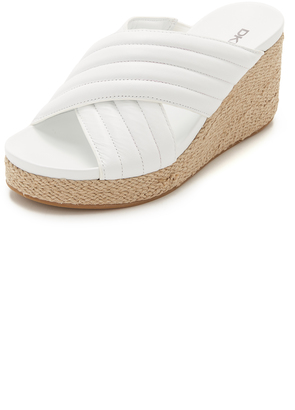 DKNY Lana Wedges $185 thestylecure.com