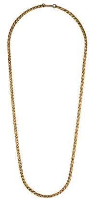 Miriam Haskell Twisted Chain Necklace