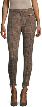 Tracy Reese Plaid Stirrup Pant