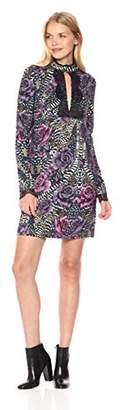 Just Cavalli Women's Rose Print Dress