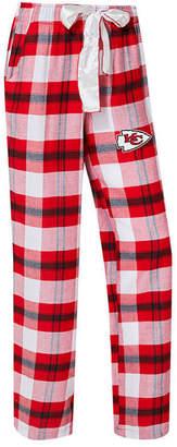 Concepts Sport Women's Kansas City Chiefs Headway Flannel Pajama Pants