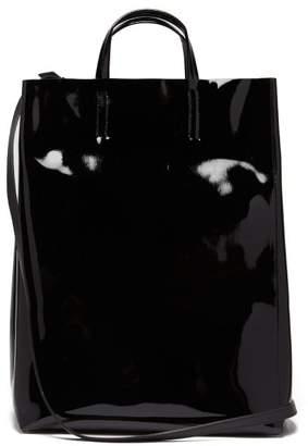 cce12b6fdf Acne Studios Baker Patent Leather Tote - Mens - Black