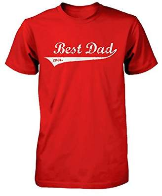d9f27e64 Love 365 Printing Best Dad Ever Swash Style T-Shirt - Father's Day Gift Idea