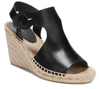Via Spiga Women's Nolan Leather Espadrille Wedge Sandals