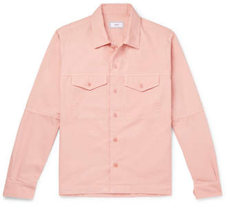 Ami Cotton-twill Overshirt - Pink