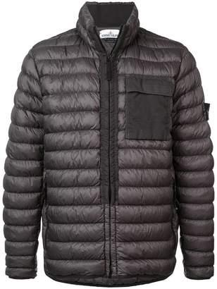 Stone Island zipped padded jacket