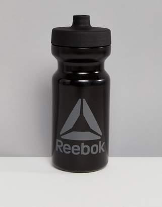 Reebok Water Bottle In Black