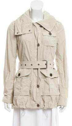 Burberry Hooded Safari Jacket