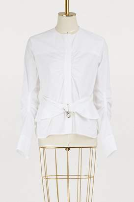 Carven Cotton shirt with belt
