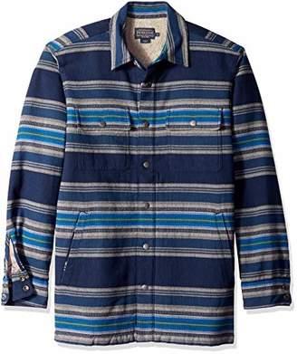 Pendleton Men's Long Sleeve Fleece Lined Shirt Jacket
