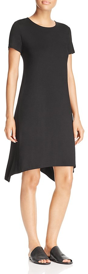 Eileen Fisher Handkerchief Hem Dress