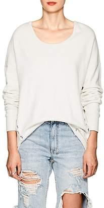 NSF Women's Corset-Detailed Cotton Sweatshirt