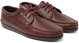Quoddy Blucher Full-Grain Leather Boat Shoes